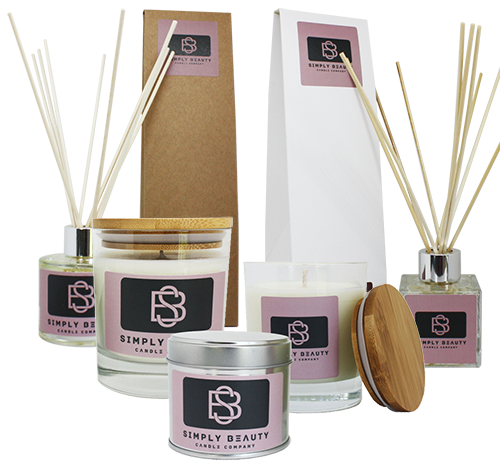 Simply Beauty Aroma Candles and Diffusers