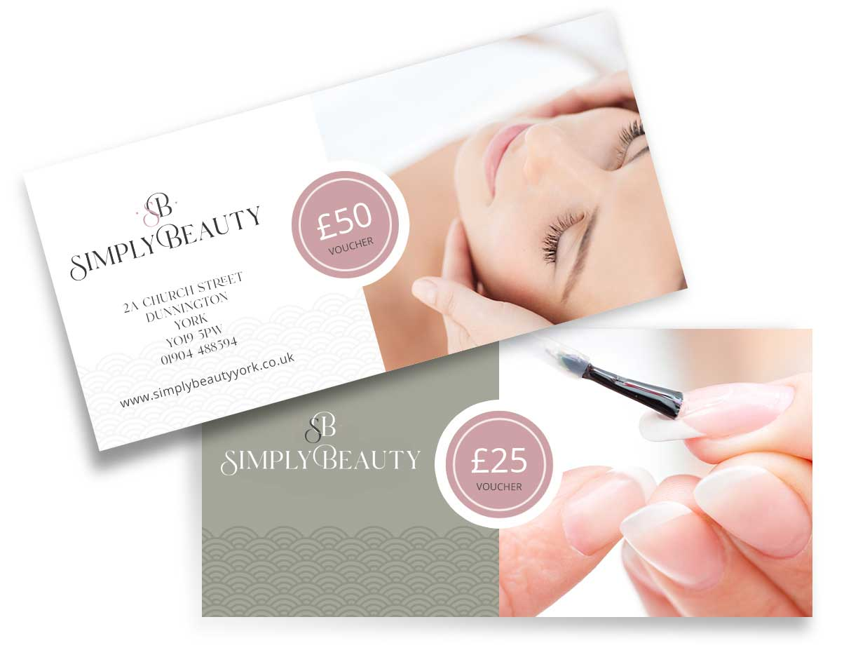 Simply Beauty Gift Vouchers